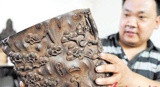红木木雕狮子图片大全