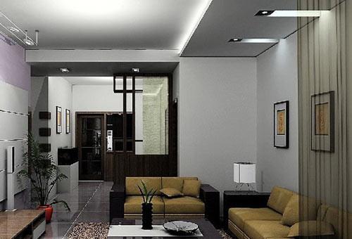 家居装修客厅隔断 小资的风格爱家
