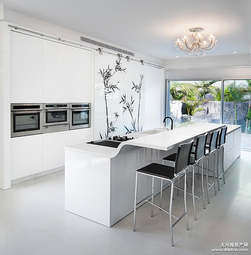 [厨房]开放式厨房设计风格