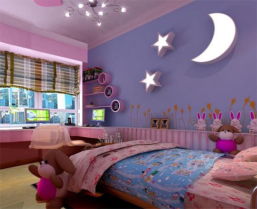 场所,当然在装修时要花一番心思,除了外观与功能上的追求,儿童房的