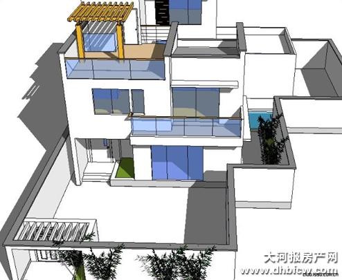 农村30万自建别墅 别墅设计图纸及效果图大全