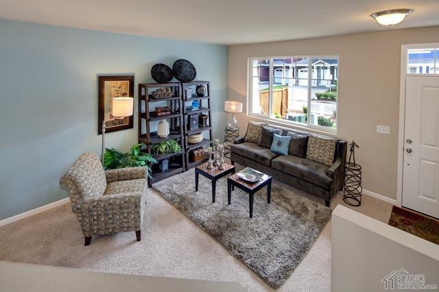 两层两大间80平米房屋设计图 美式风格自建房参考