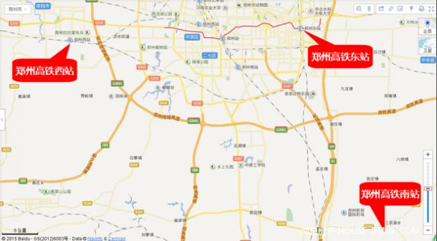 郑州将坐拥3大高铁站 你还只知道高铁东站
