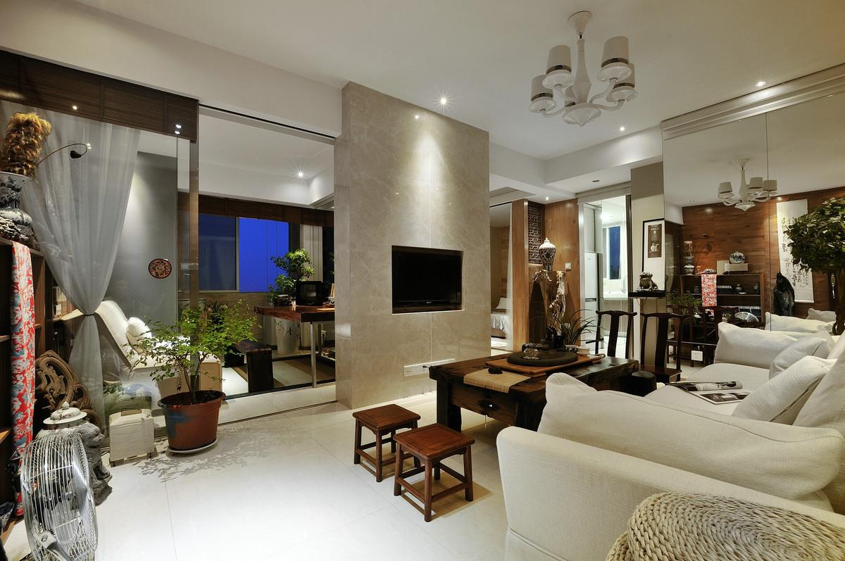 80后现代中式风格家居装修