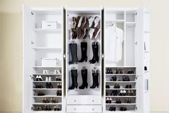 16款精美玄关鞋柜设计 超强收纳实力派装修效果图