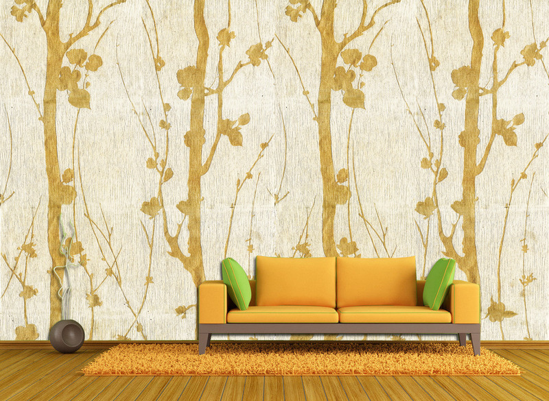 现代简约电视背景墙因其简单大气的装修风格越来越