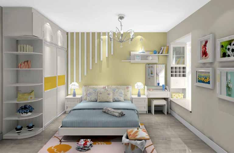 小户型装修起来最重要的还是舒服舒心,因为以后居住的空间,是家,是生活,不仅仅是奢华和面子。今天小编给你推荐了三套适合工薪族的小户型装修设计案例,基本上都是70左右的小三居,小二居,看看别人家是如何省钱打造出完美空间的,赶紧来学学吧。 70平米房子装修案例:现代简约风 整体空间设计以白色为主,空间划分比例协调,特别是卧室的那一抹浅黄,点缀出卧室温暖的感觉,生动有趣,借助窗台的位置整理出更多的收纳空间,兼具储物的分类柜子,更让整个居室井井有条。       70平米房子装修案例一:现代简约风 业主需求:使用面