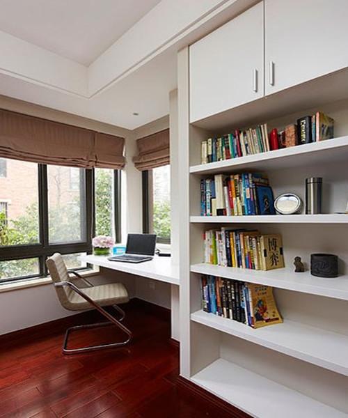 阳台改书房装修效果图 客厅阳台改书房小妙招