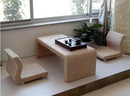 榻榻米阳台装修效果图 清新自然榻榻米阳台设计
