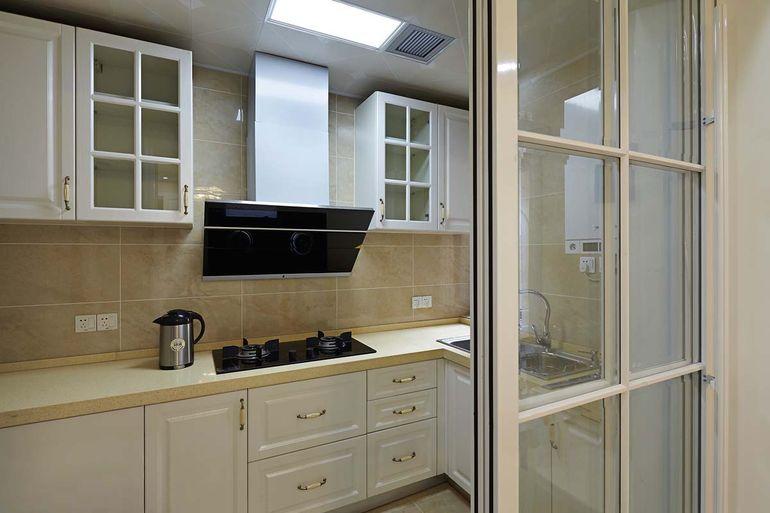 厨房门装修效果图大全2017图片 简约大气厨房门款式设计
